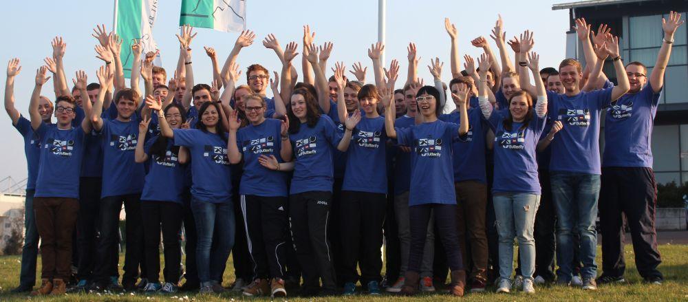 Die Teilnehmer der TdjE 2014 in Magdeburg
